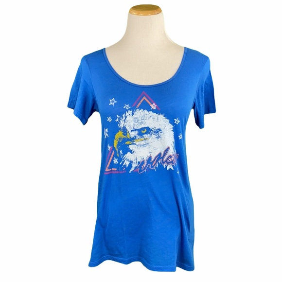 Volcom Blue Eagle Short Sleeve Graphic Tee